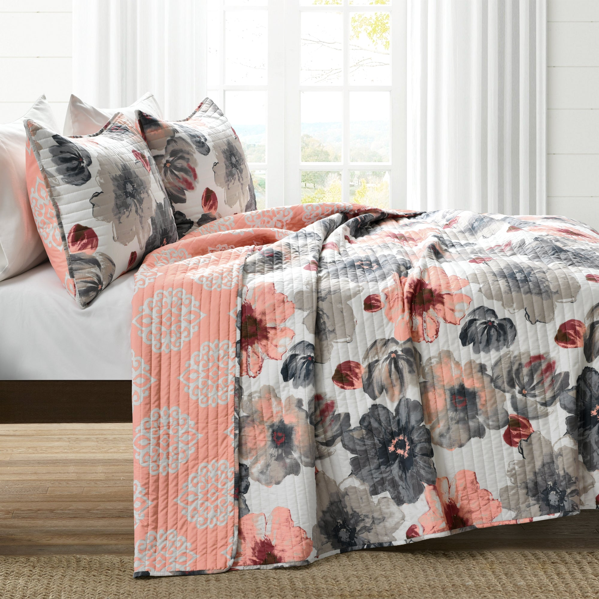 Leah Quilt 3 Piece Set