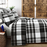 Farmhouse Yarn Dyed Plaid Comforter 5 Piece Set