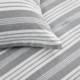 Farmhouse Yarn Dyed Stripe Comforter 5 Piece Set