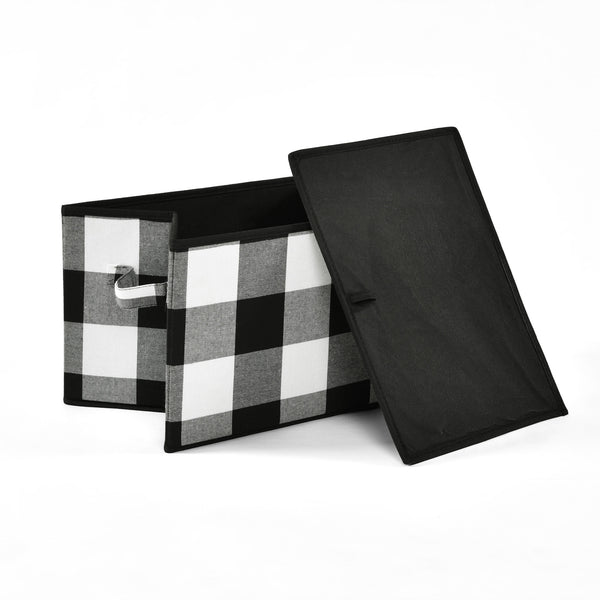 Woven Buffalo Check Gift Box Set