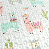 Make-A-Wish Southwest Llama Cactus Quilt Set