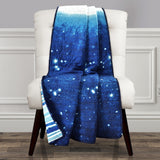 Make A Wish Space Star Ombre Throw
