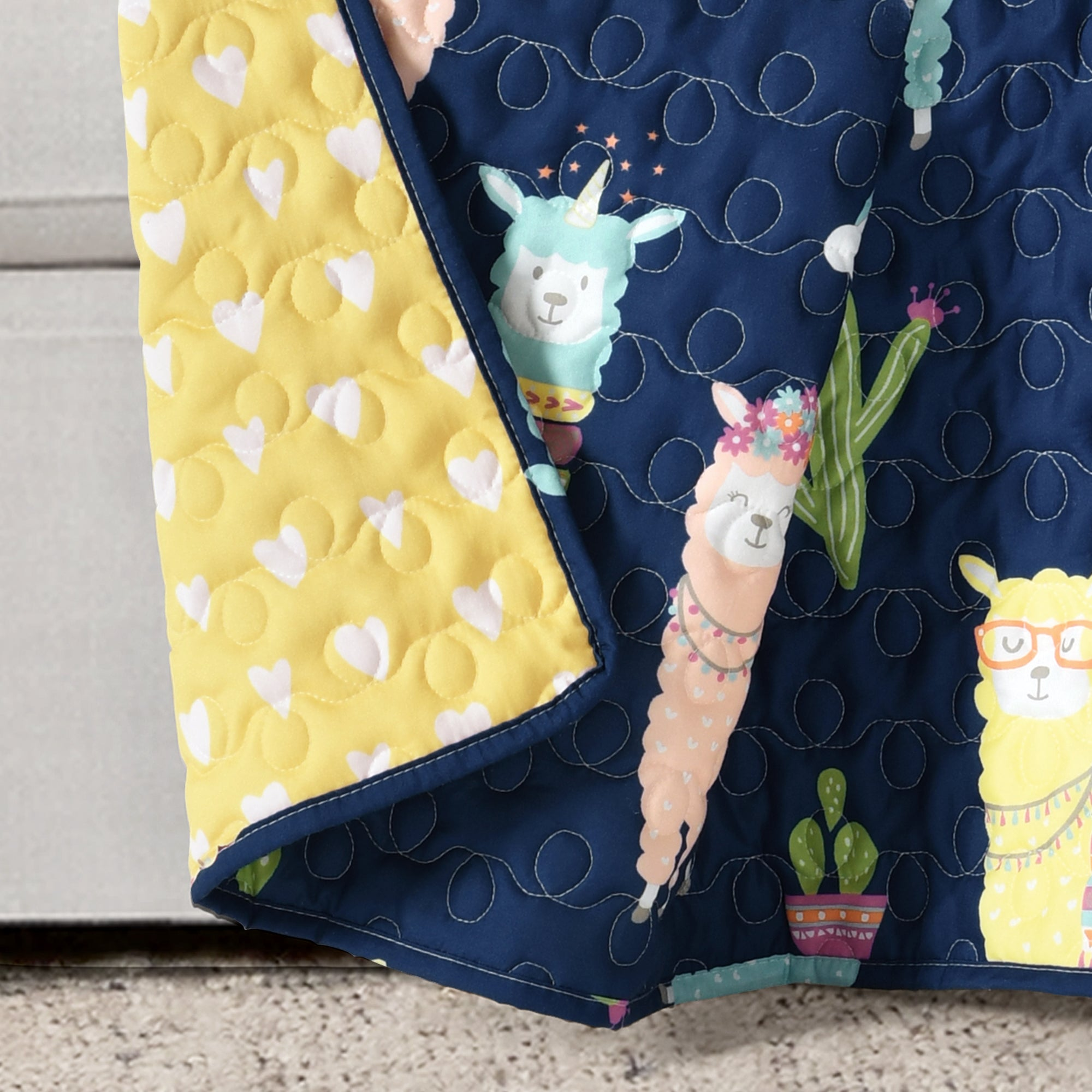 Make-A-Wish Southwest Llama Cactus Throw