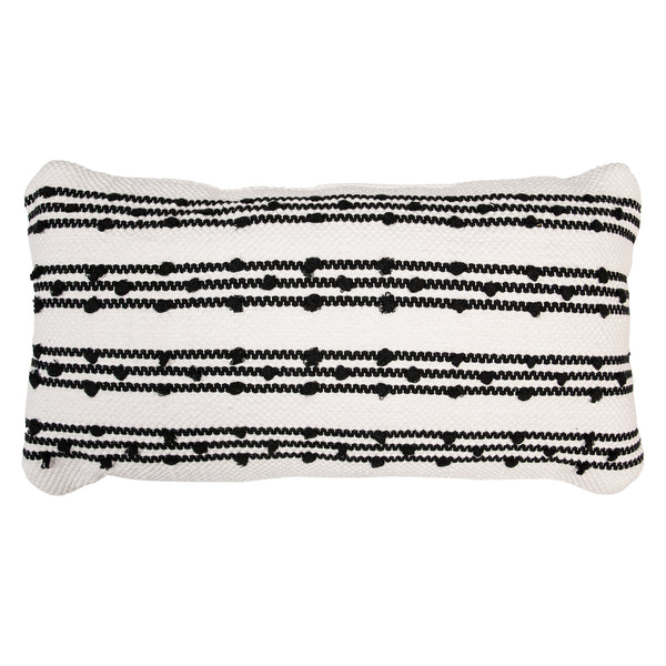 Hash Stripe Decorative Pillow