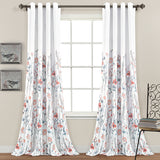 COMING SOON: Clarissa Floral Room Darkening Window Curtain Panel Set