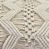 Studio Chevron Macrame Decorative Pillow Cover
