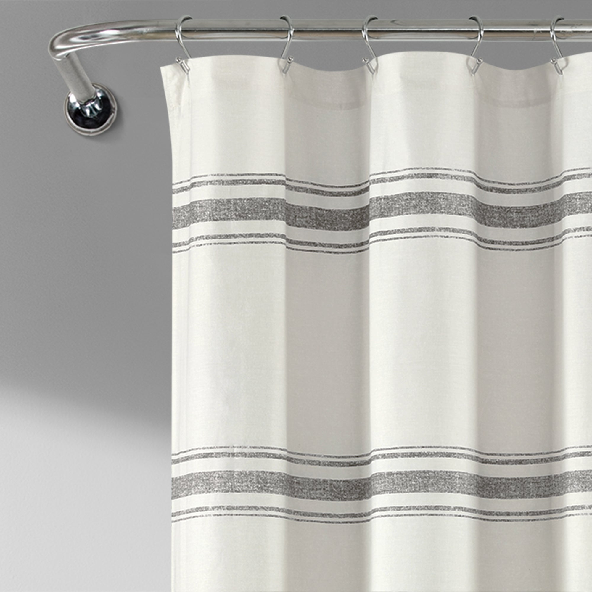 Farmhouse Stripe 100 Cotton Shower Curtain Lush Decor Www Lushdecor Com Lushdecor