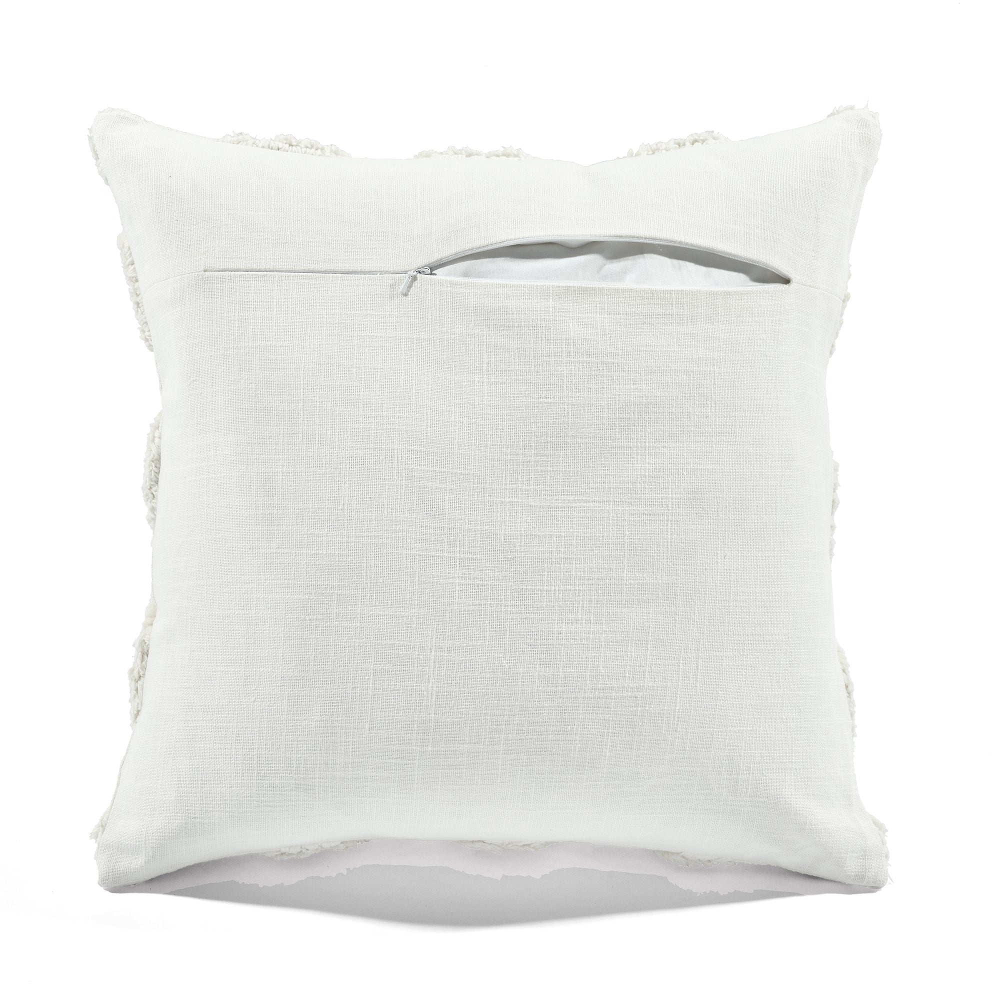 Tufted Diagonal Decorative Pillow Cover