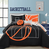 Basketball Game Quilt Set