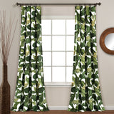 Tropical Paradise Window Curtain Panel Set