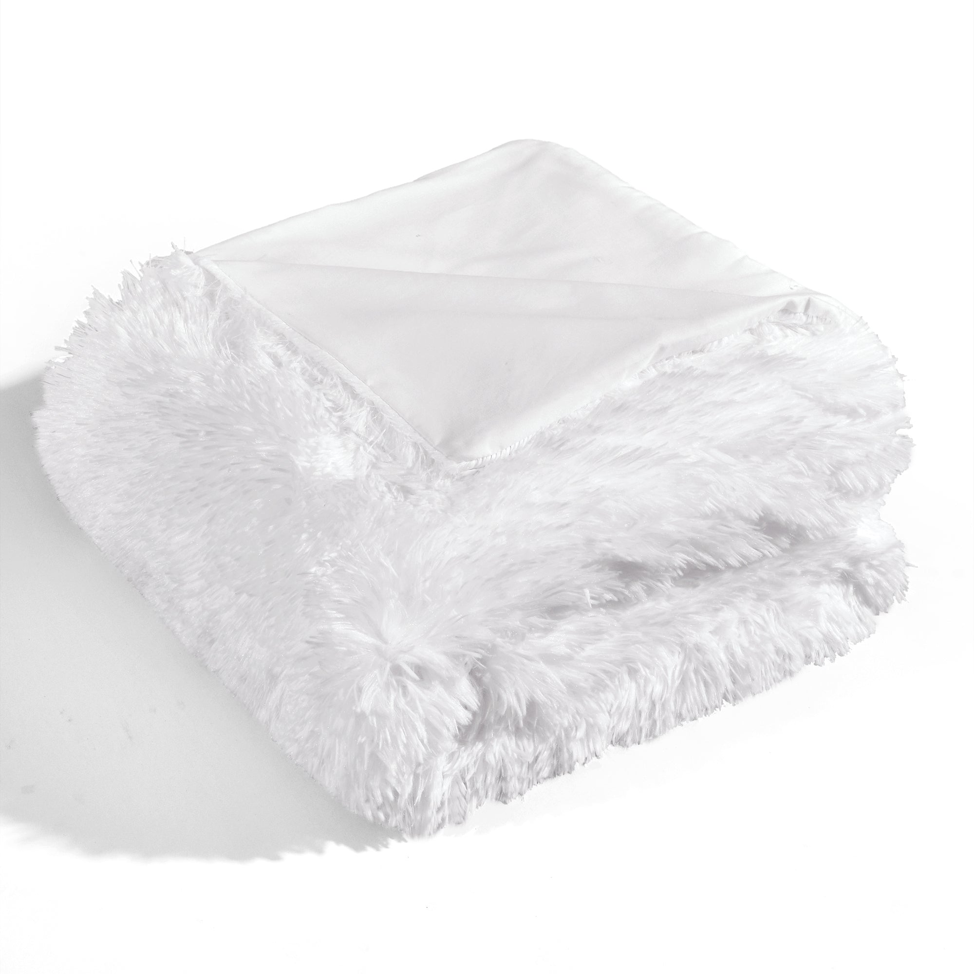 Emma Faux Fur Throw