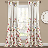 Neela Birds Room Darkening Window Curtain Panel Set