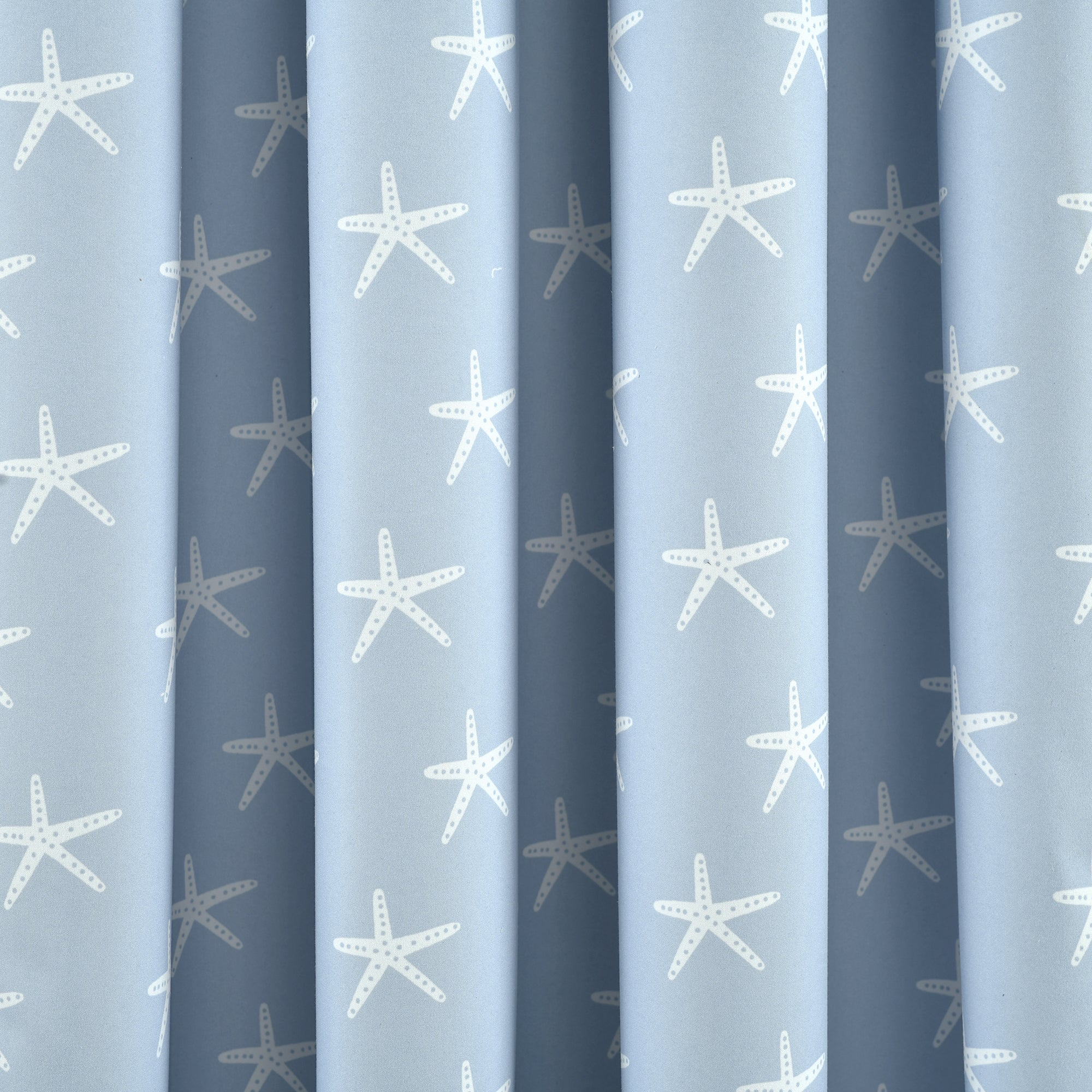Seaside Starfish Blackout Window Curtain Panel