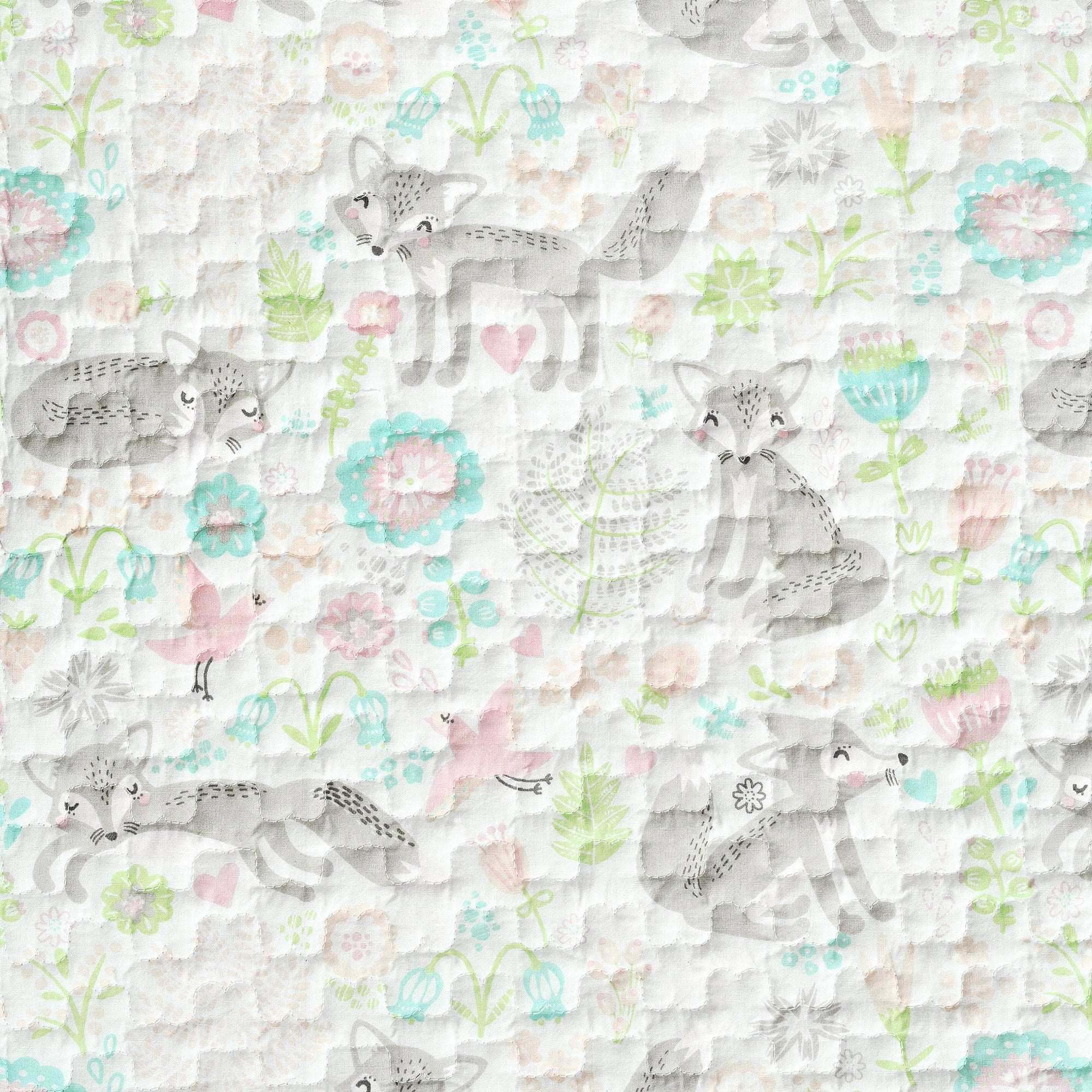 Pixie Fox Organic Cotton Quilt