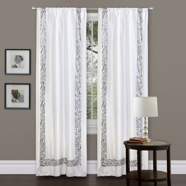 Urban Savanna Window Curtain