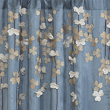 Flower Drops Window Curtain