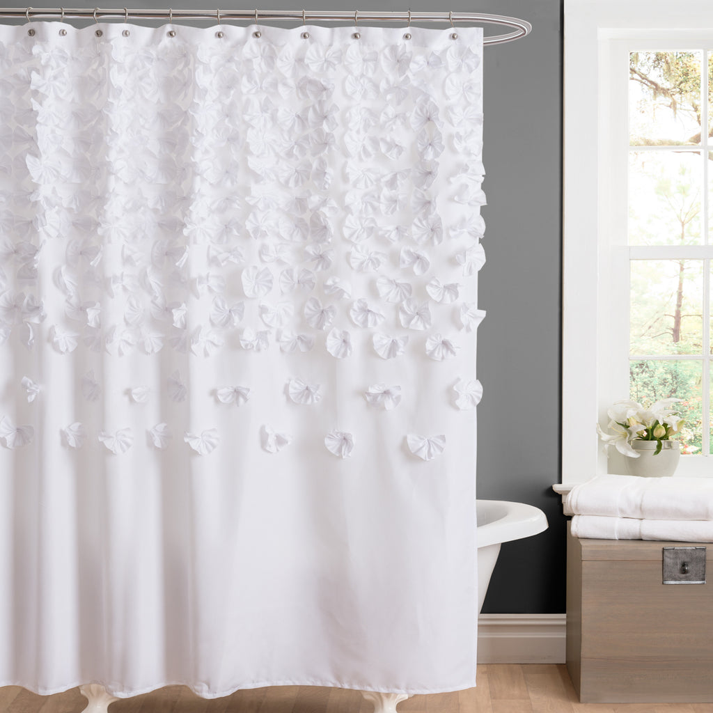 Lucia Shower Curtain | Lush Decor | www.lushdecor.com