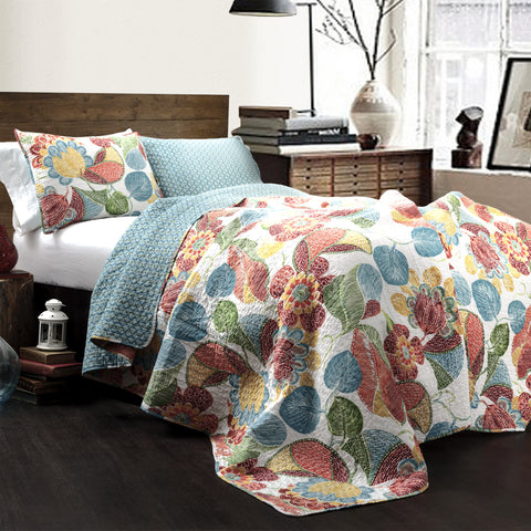 Layla 3 piece Quilt