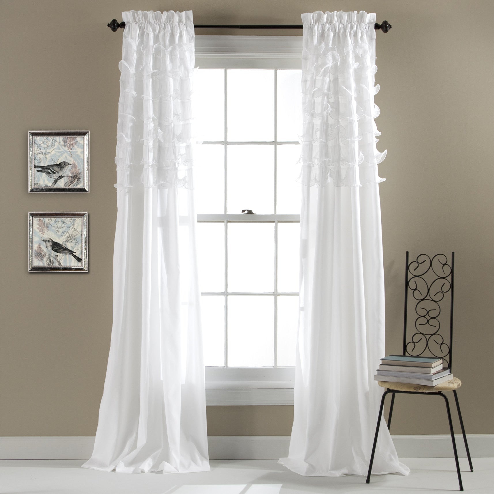 Lush Decor Lake Como Curtains Lake Como Window Panels