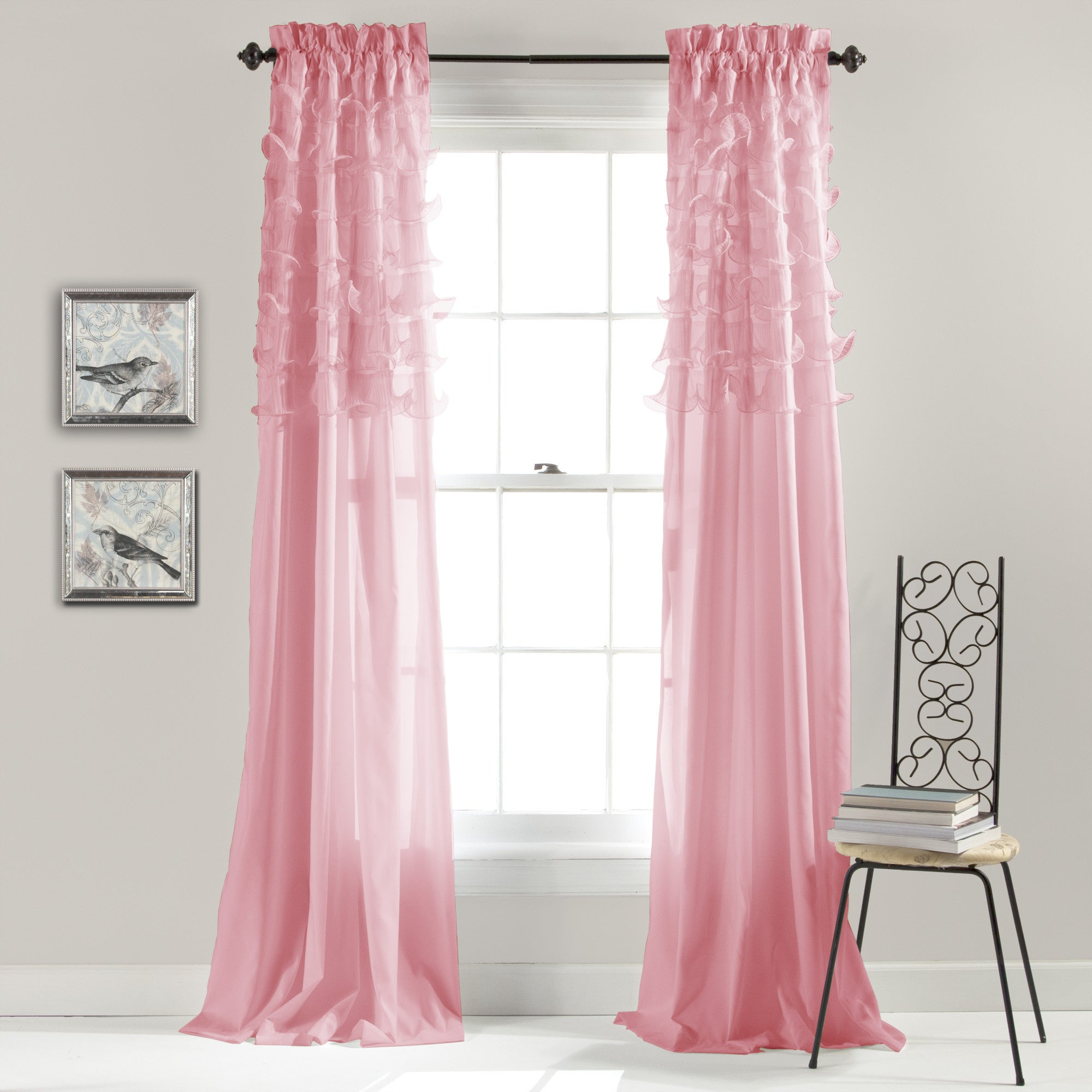 Riley Window Curtain | Lush Decor | www.lushdecor.com