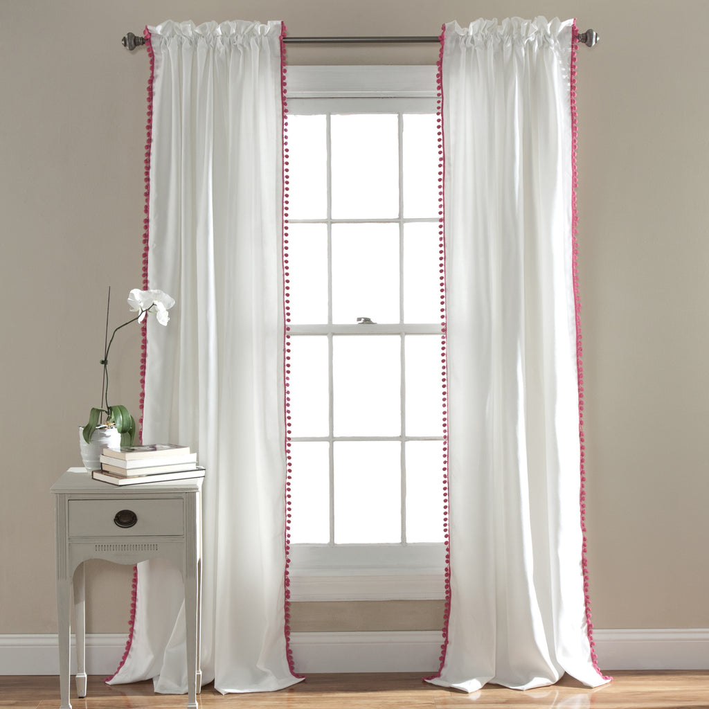 Pom Window Curtain
