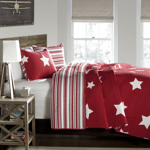 Star 2 Piece Quilt Set Twin Size