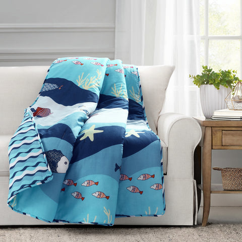 Sea Life Throw