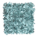 Satin Ruffle Decorative Pillow