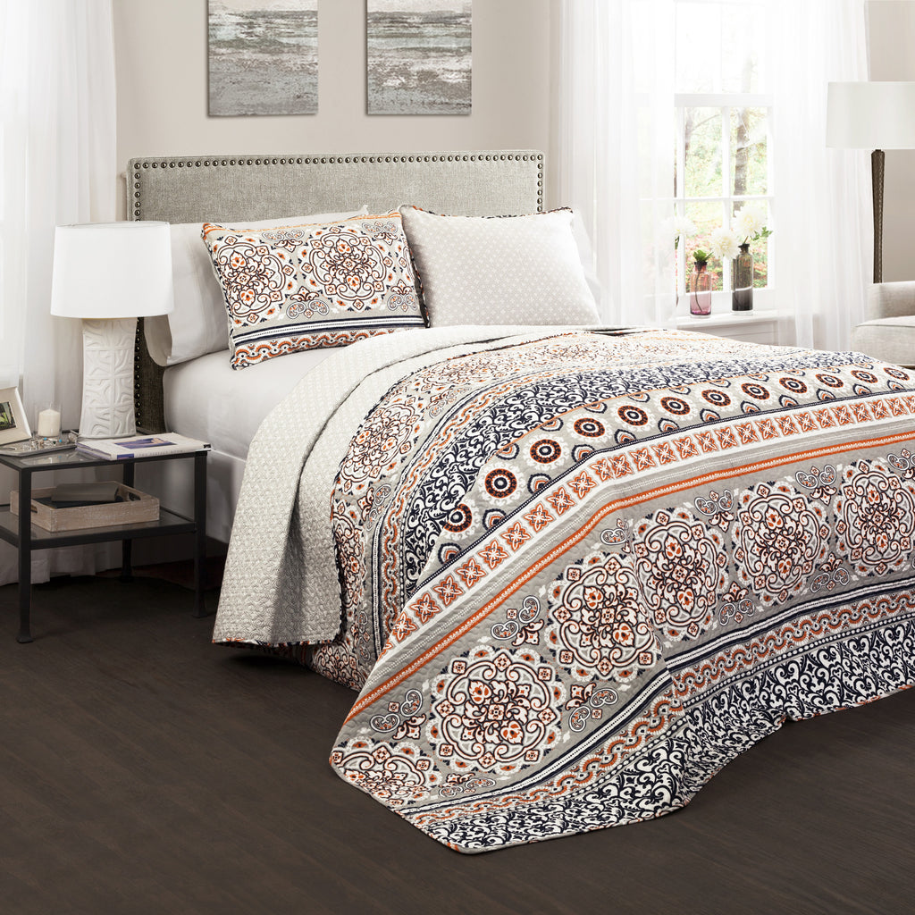 nesco  piece quilt set  lush décor  wwwlushdecorcom - nesco  piece quilt set