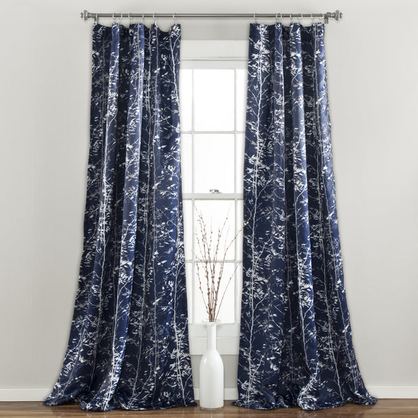 Forest Window Panel Navy Set