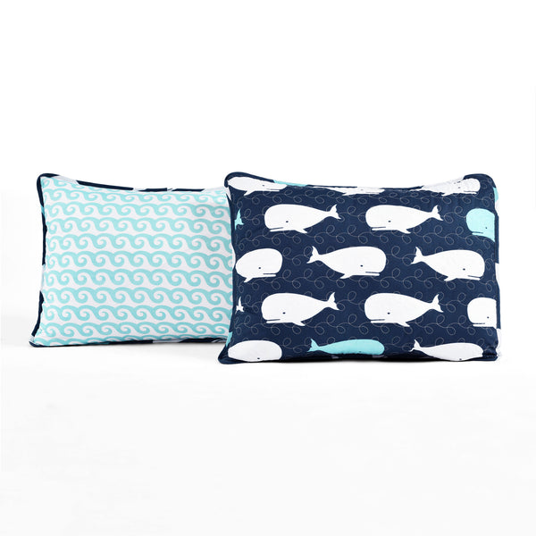 Whale Quilt 4 Piece Set Twin Size