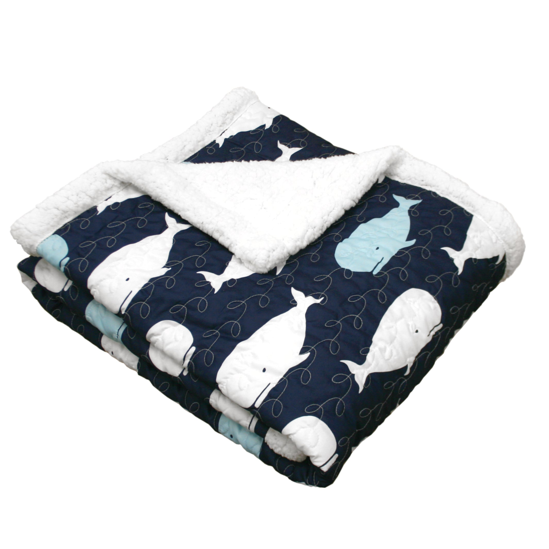 Whale Throw Sherpa