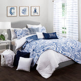Bedding Bundle: Erindale Quilt Set + Farmhouse Seersucker Comforter Set