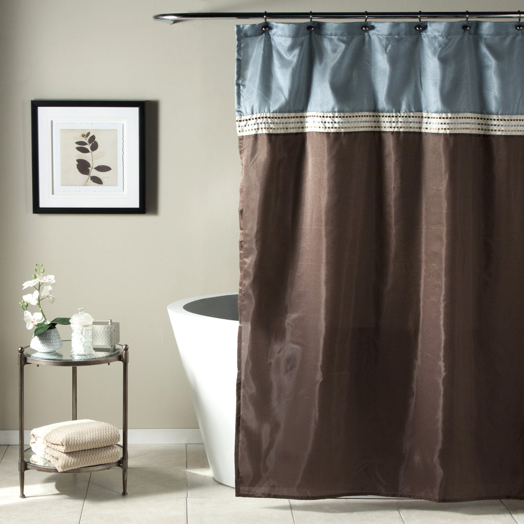 Terra Shower Curtain | Lush Decor | www.lushdecor.com