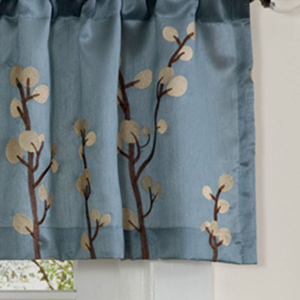 Cocoa Flower Valance