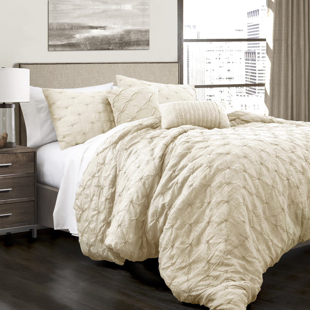 synergy ivory king piece comforter bedding twin set tan sets