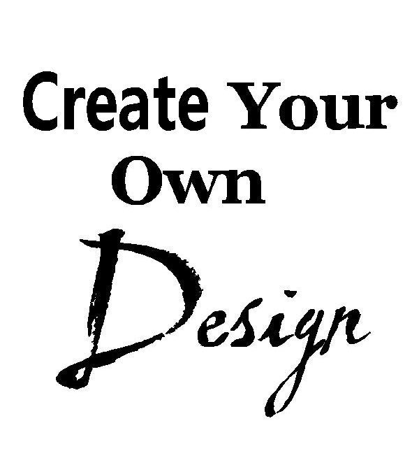 1 Create Your Own Design