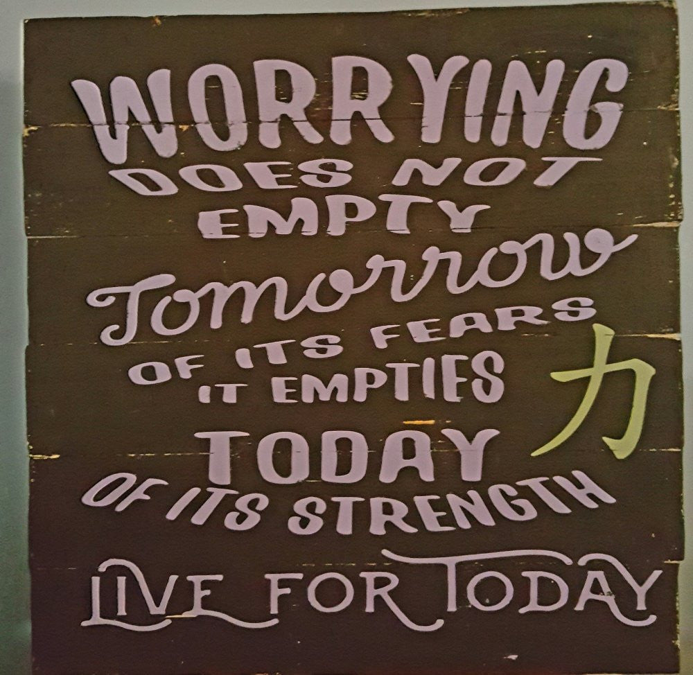 Worrying Does Not Empty