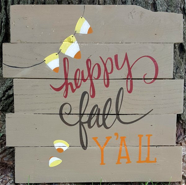 "Happy Fall Ya""ll"