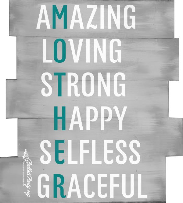 Amazing, Loving, Strong, Happy