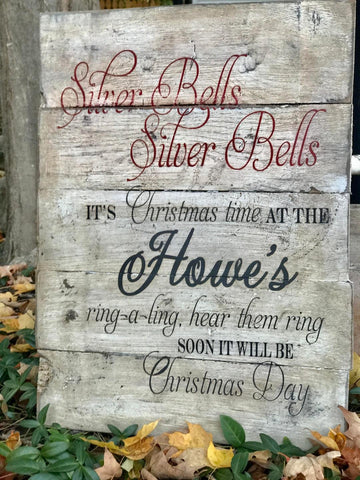Silver Bells, Silver Bells, it's Christmas Time at the ...