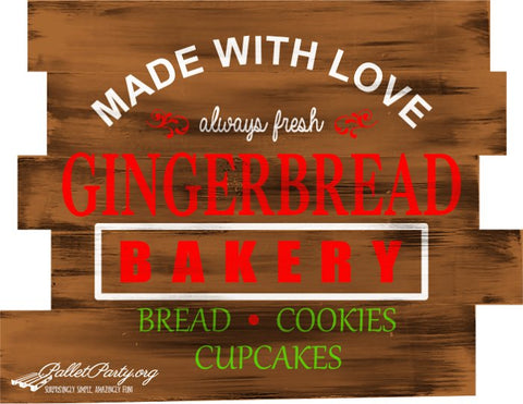 Made with love, always fresh Gingerbread Bakery
