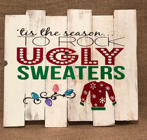 Tis the season to ROCK UGLY Sweaters