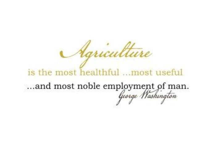 Agriculture is the most healthful