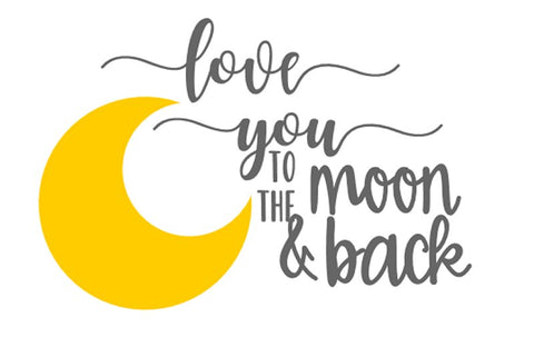 Love you to the moon and back (2)