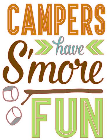 Campers have S'more fun