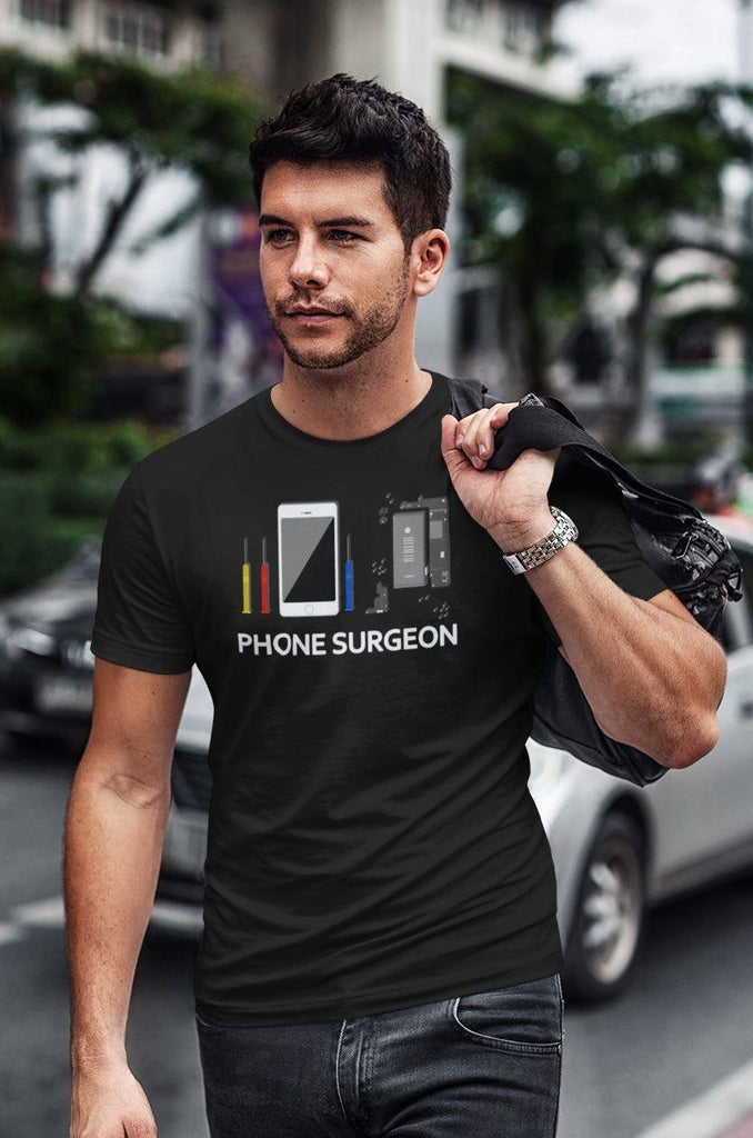 "Repair X,""Phone Surgeon"" Repair X Short Sleeve T-shirt,Shirt"