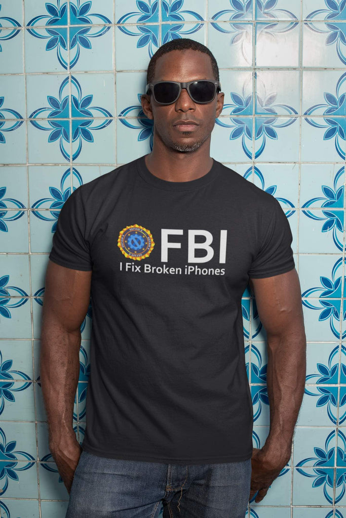 "Repair X,""FBI"" Repair X Short Sleeve T-shirt,Shirt"