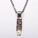 Amulet  Protection Sterling Silver Pendant Necklace Right