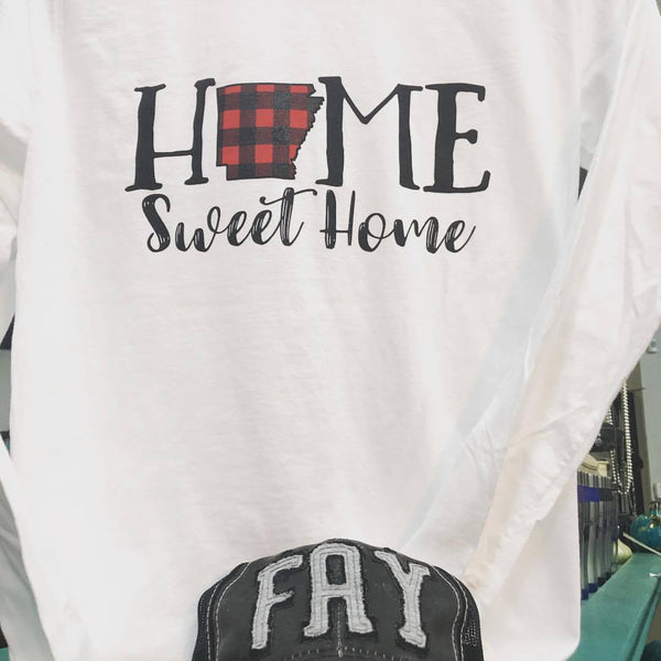 Buffalo Plaid - Home Sweet Home
